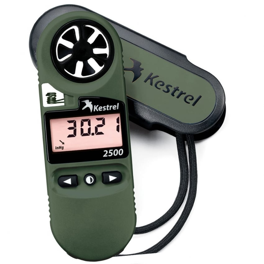 2500 Night Vision Pocket Weather Meter