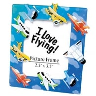 Kids Magnetic Planes Picture Frame