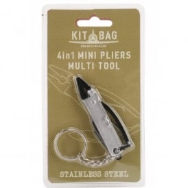 CGB Giftware Kitbag 4 in 1 Pliers Multi Tool