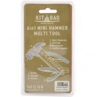 Kitbag 6 in 1 Mini Hammer Multi Tool