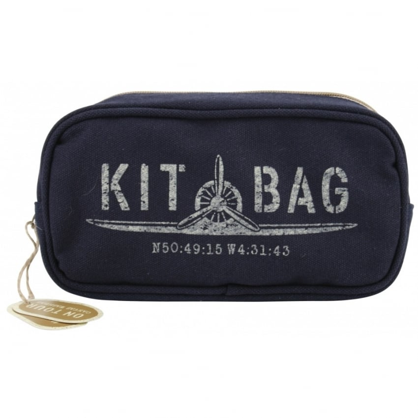 Kitbag Canvas Washbag