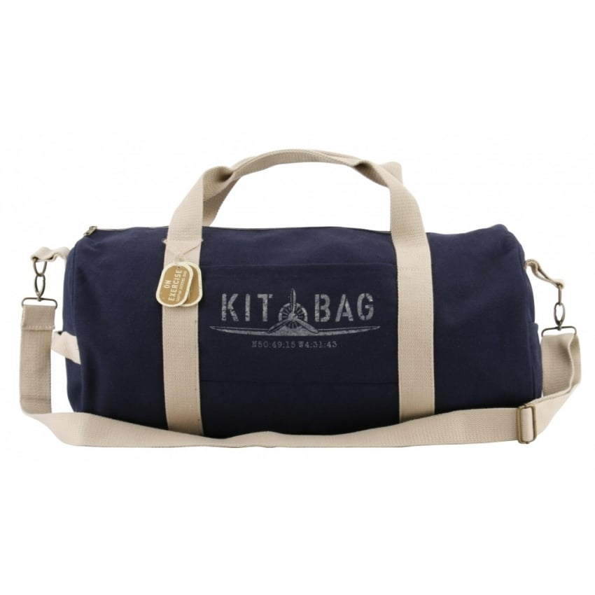 Kitbag Satchel Canvas Duffle Bag