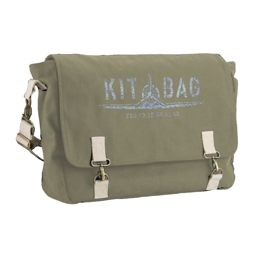 Kitbag Satchel Canvas Holdhall