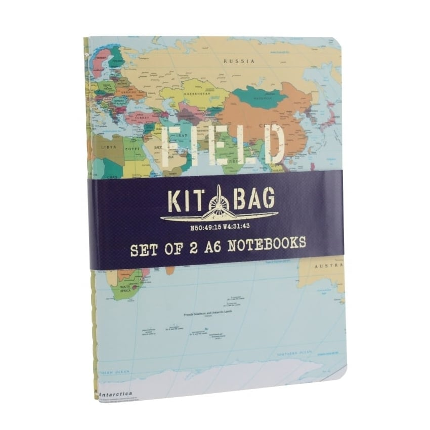 Kitbag Set of 2 Field Notes A6 Notebooks