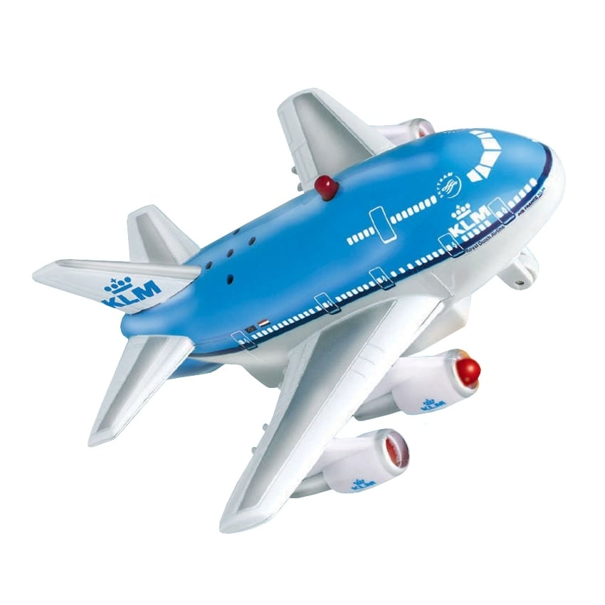 KLM Airlines Aircraft Pull Back Toy