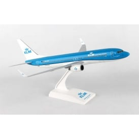 KLM Boeing 737-800 Plastic Model - Scale 1:130