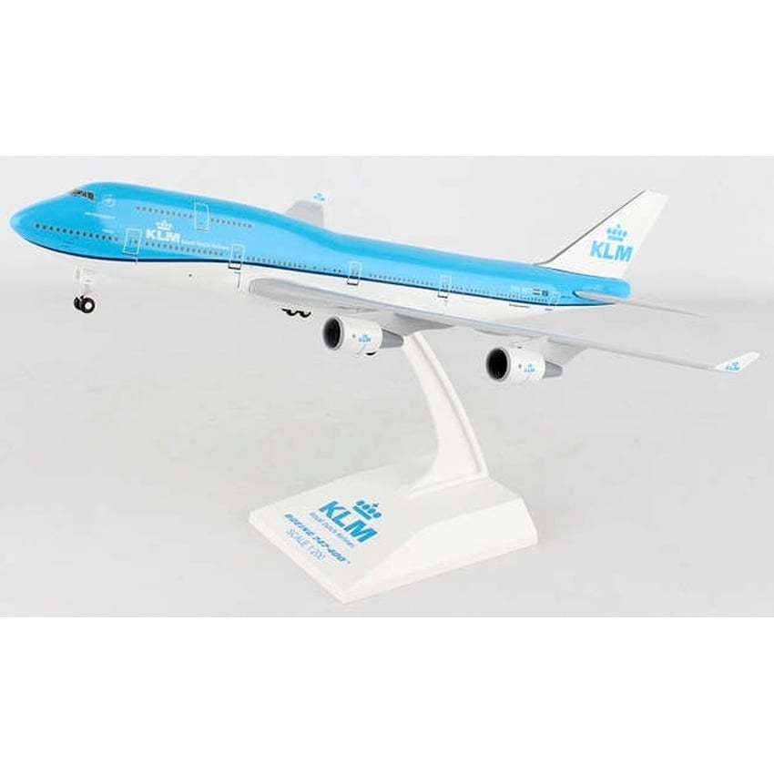 KLM Boeing 747-400 Plastic Model - Scale 1:200