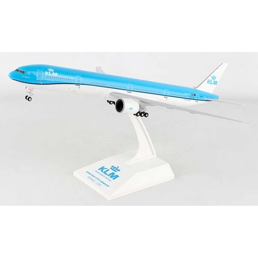 KLM Boeing 777-300ER Plastic Model - Scale 1:200