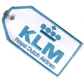KLM Embroidered Baggage Tag