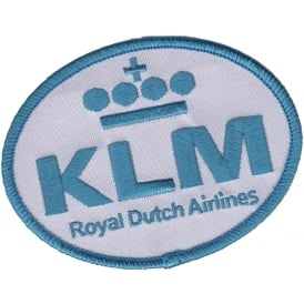 KLM Logo Iron on Patch
