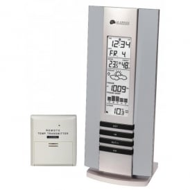 LaCrosse La Crosse WS7394 Slim Weather Station - Aluminium
