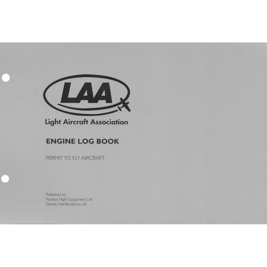 LAA Engine Log Book
