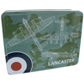 Lancaster Blueprint Storage Tin