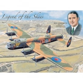 Original Metal Sign Company Lancaster of the Skies Fridge Magnet