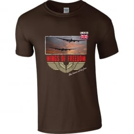 Lancaster Pair Wings of Freedom T-Shirt