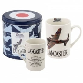 RAF Lancaster Photographic White China Mug