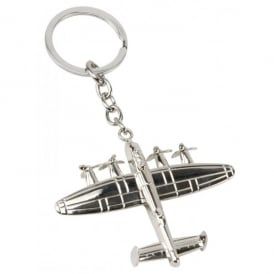 Lancaster Silver Plated Keyring