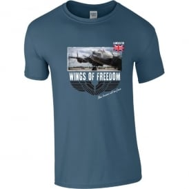 Lancaster Take Off Wings of Freedom T-Shirt