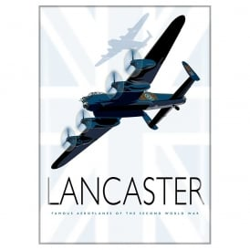 Lancaster Union Flag Fridge Magnet