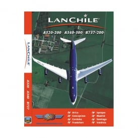 Just Planes LanChile A320-200 DVD