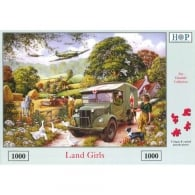 Land Girls Jigsaw Puzzle (1000 pieces)
