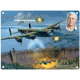 Legend of the Skies Dambuster Metal Sign