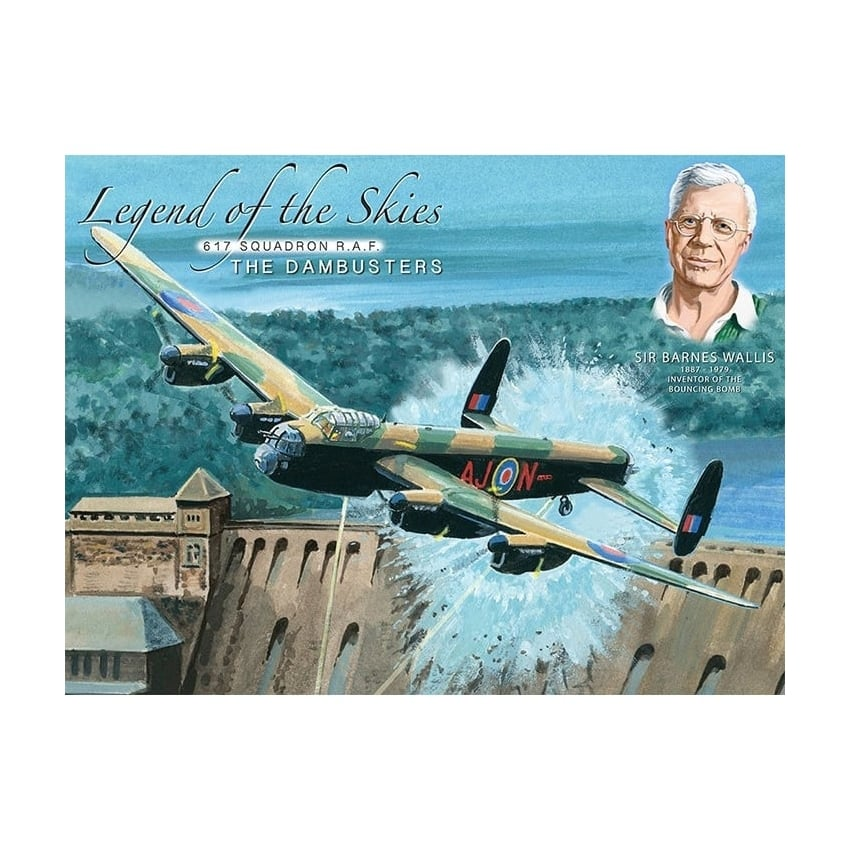 Legend of the Skies Dambusters Fridge Magnet