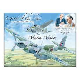 Legend of the Skies Mosquito Fridge Magnet