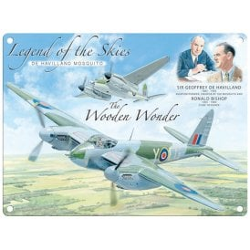 Legend of the Skies Mosquito Metal Sign