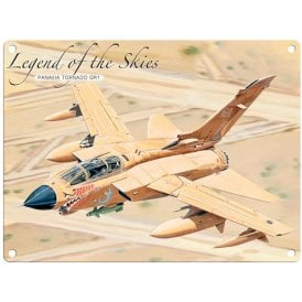 Legend of the Skies Panavia Tornado GR1 Metal Sign