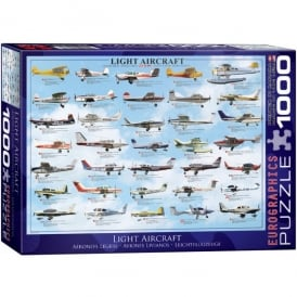 Light Aircraft Jigsaw Puzzle (1000 pieces)