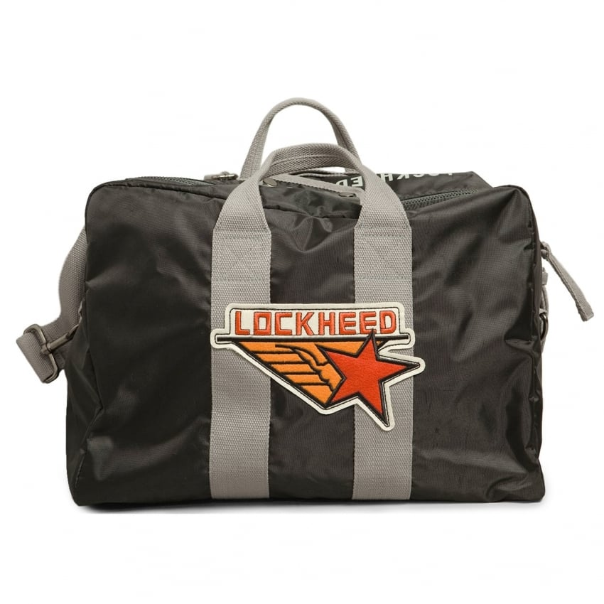 Lockheed Kit Bag - Black