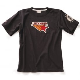Lockheed Logo T-Shirt - Black