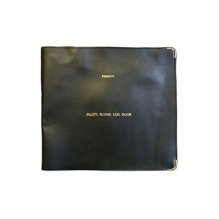 Logbook Cover for Non-Jar Logbook - Black