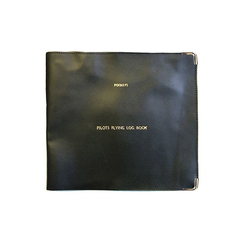 Logbook Cover for Pro Logbook - Black