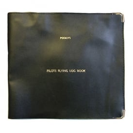 Logbook Cover for Pooleys Pro Logbook - Black