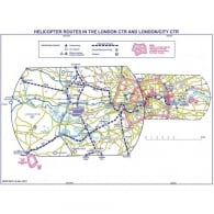 London Helicopter Routes Chart