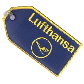 Lufthansa Embroidered Baggage Tag