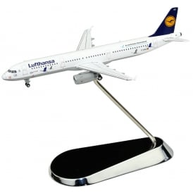 Luthansa Crane Airbus A321-100 Diecast Model - Scale 1:400