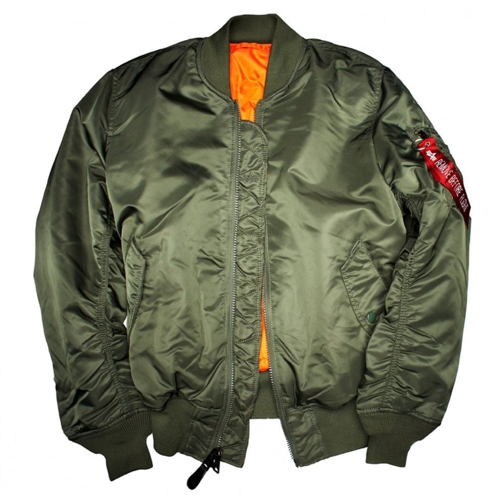 Alpha Industries MA-1 Flight Jacket in 6 Colours caf3fc3ad35