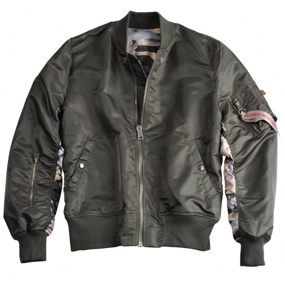 Alpha industries MA-1 Reversible Camo Flight Jacket