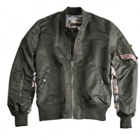 MA-1 Reversible Camo Flight Jacket