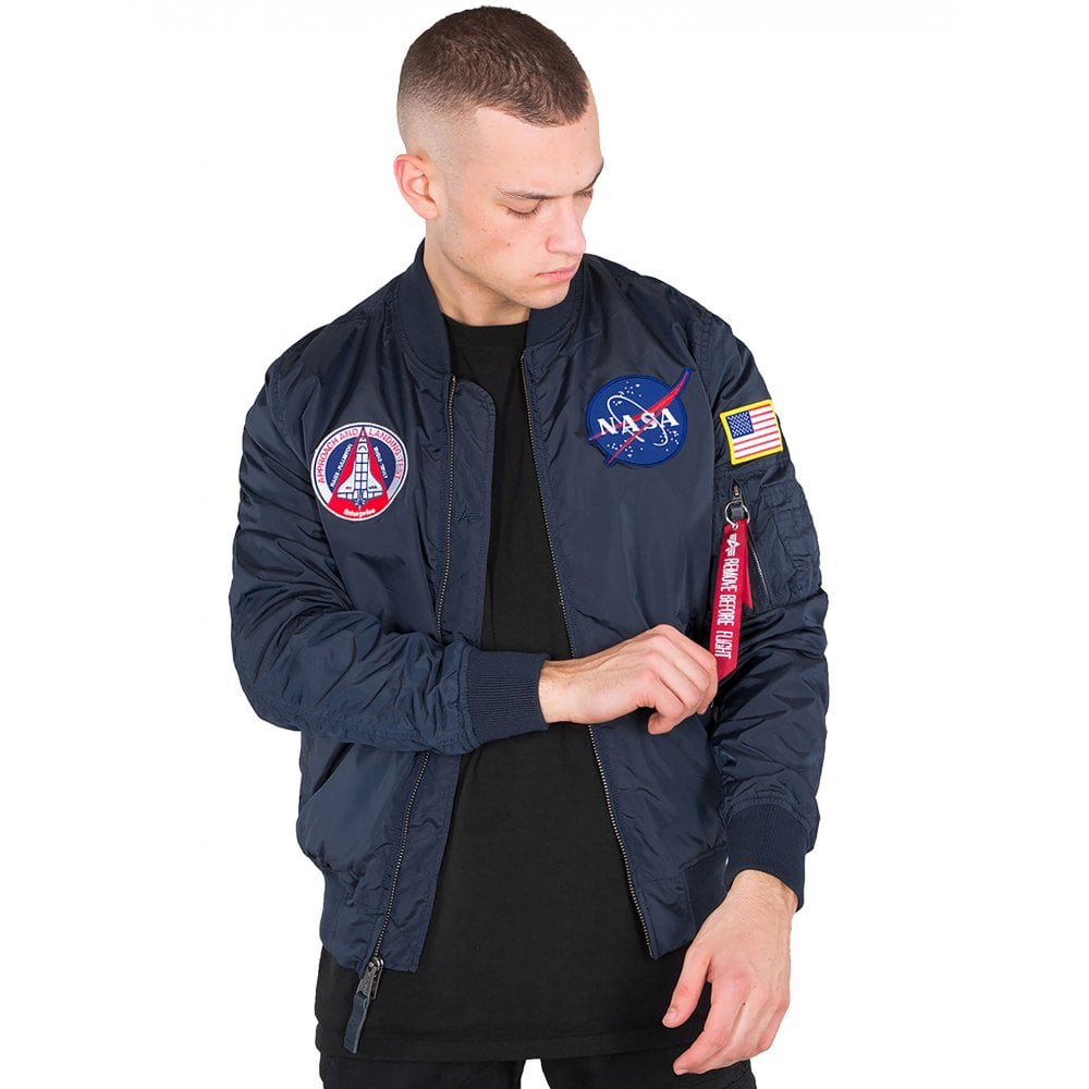 Alpha Industries MA-1 TT NASA Reversible II Flight Jacket e380670a7d