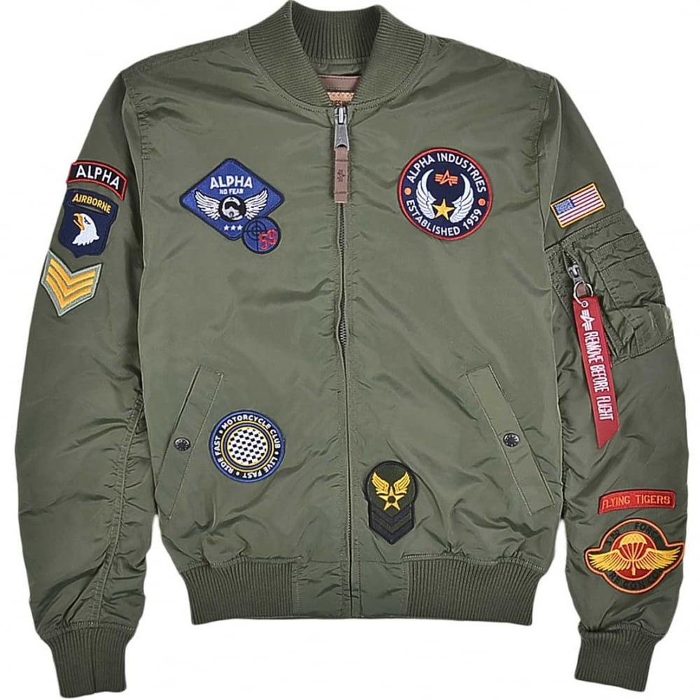 Alpha Industries Flight and Bomber Jackets | UK's Largest Range