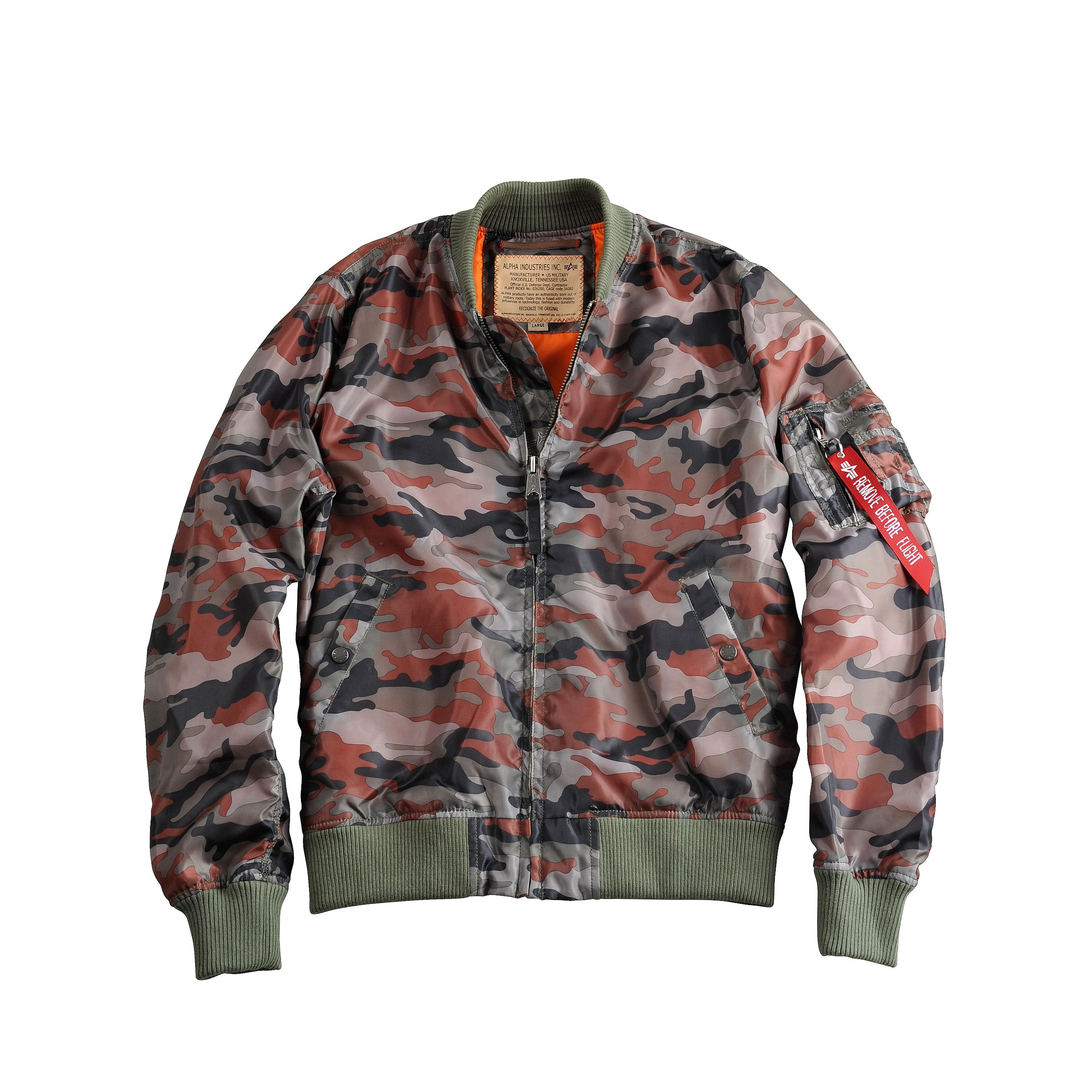 83550f903 MA-1 TT Summer Flight Jacket