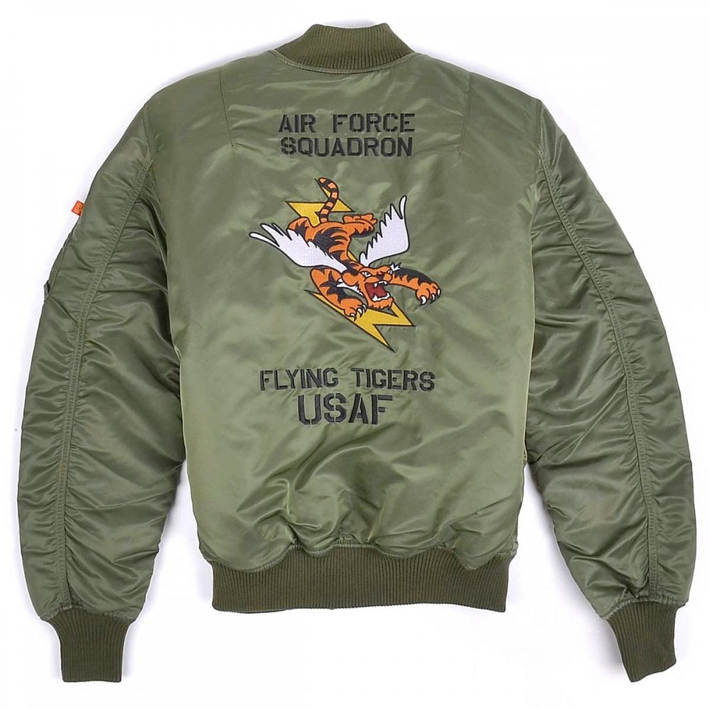 MA-1 VF Flying Tigers Flight Jacket