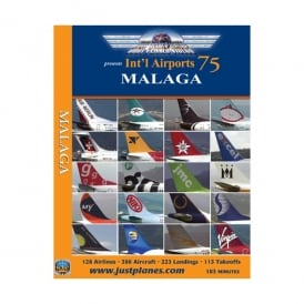 Just Planes Malaga Airport DVD