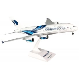 Malaysian Airbus A380 Model - Scale 1:200