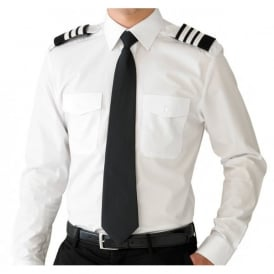 Flightstore Mens Pilot Shirt Long Sleeve