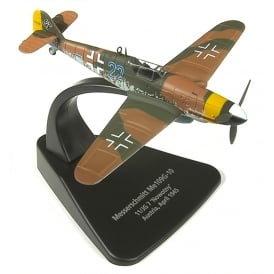 Messerschmitt Bf 109G Diecast Model 1:72